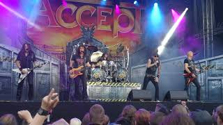 Скачать ACCEPT Midnight Mover South Park Festival Tampere Finland 9 6 2018