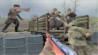 WW2 - Battle of Kursk - USSR - Call of Duty United Offensive