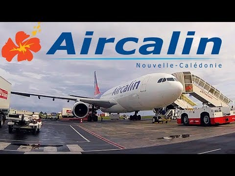 FLIGHT REPORT / AIRCALIN AIRBUS A330 / TAHITI - NEW CALEDONIA