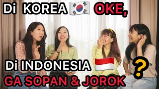 ETIKA KOREA & INDONESIA BEDA YA BUND ft. @Borassaem : OfCOS TV @Danielle Lee Ai