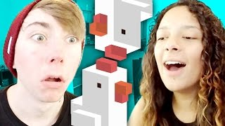 CROSSY ROAD MULTIPLAYER ( Apple TV Gameplay Video)