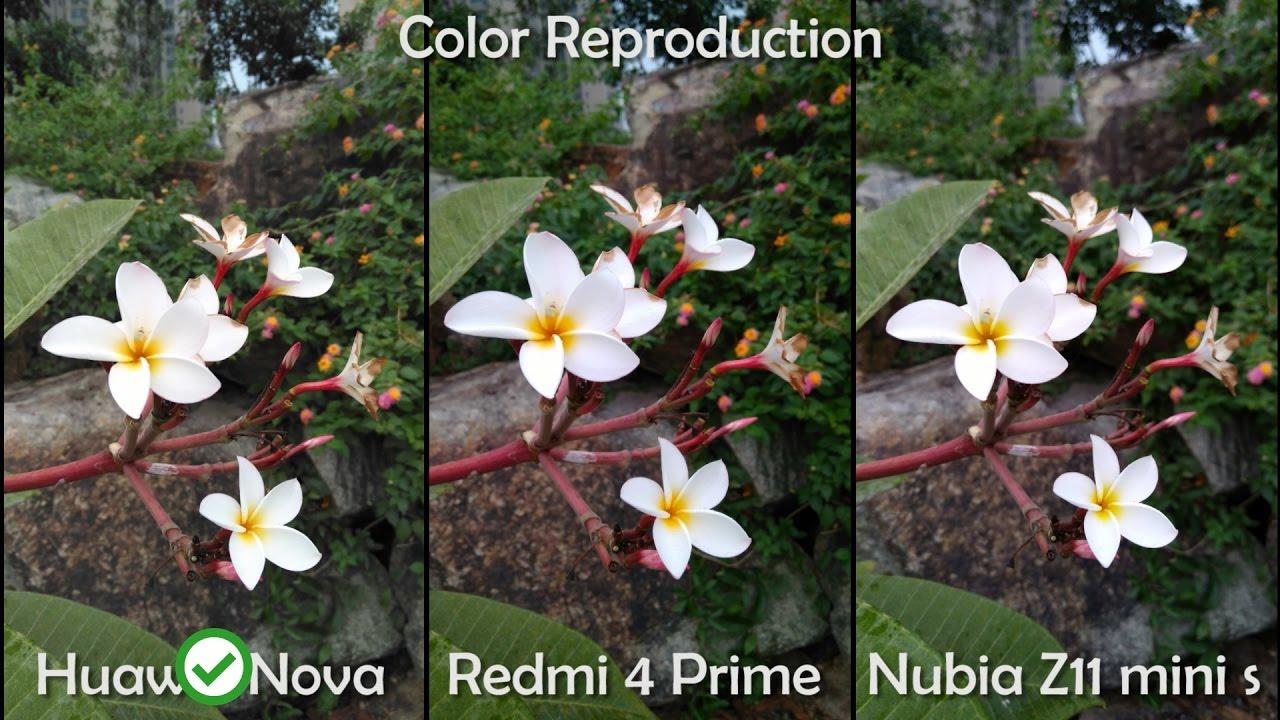 Huawei Nova Vs Redmi 4 Prime Vs Nubia Z11 Mini S Camera