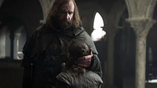 Arya Stark and the Hound: Game of Thrones Season 3 to Season 8 Episode 5 (all scenes)