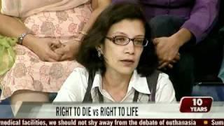The euthanasia debate