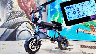 MINI BMX ELECTRICA CASERA +60km/h ! La Mini Bici Mas Rapida del Mundo?