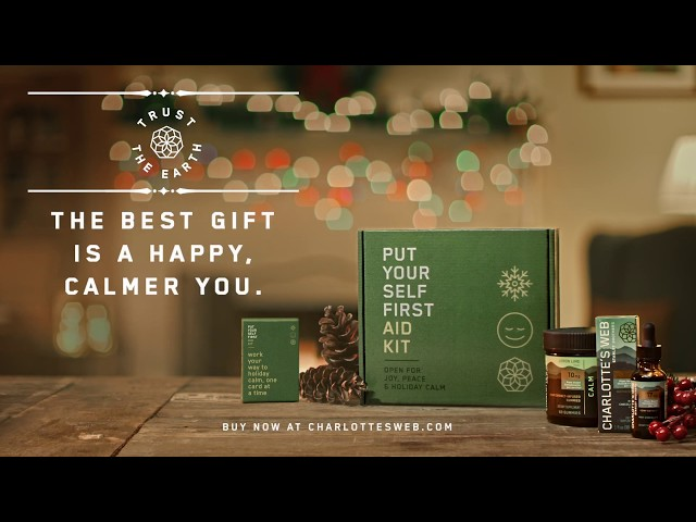 Charlotte's Web CBD Presents the Put Your Self First Aid Kit
