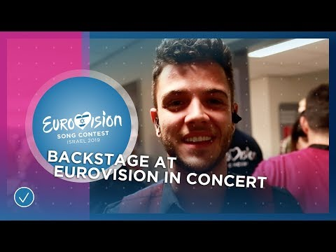 Luca Hänni (🇨🇭) invites you backstage at Eurovision In Concert 2019