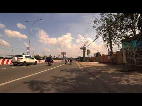 Thu Dau Mot - Thuan An, Binh Duong, by Electricity bike (2017)