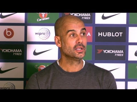 Chelsea 0-1 Manchester City - Pep Guardiola Post Match Press Conference - Embargo Extras