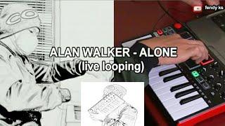 ALAN WALKER - ALONE (live cover) #alanwalker #alone #livelooping