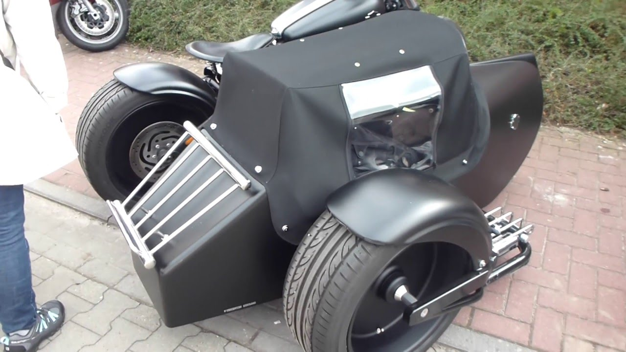 CUSTOM HARLEY-DAVIDSON & SIDECAR * see also Playlist