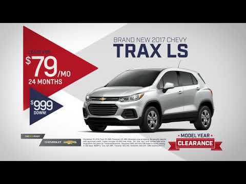 Matick Chevrolet August Specials 2017 Trax Ls Traverse Lt And Silverado Dbl Cab