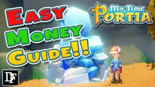 Easy Money Guide! 5000 Gols In Two Days! - My Time At Portia Tips And Tricks