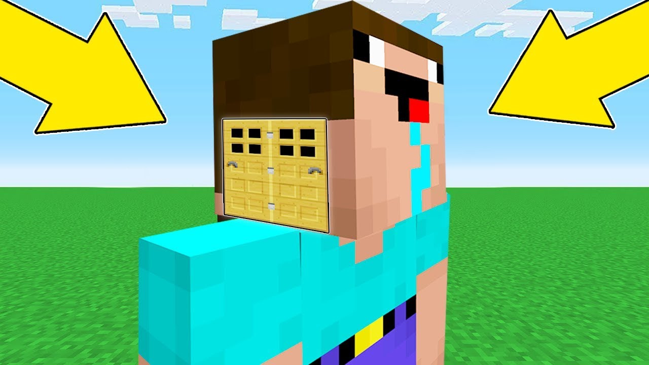 Minecraft Battle Noob Vs Pro How Noob Built Head Block House Inside Noob Animation Youtube