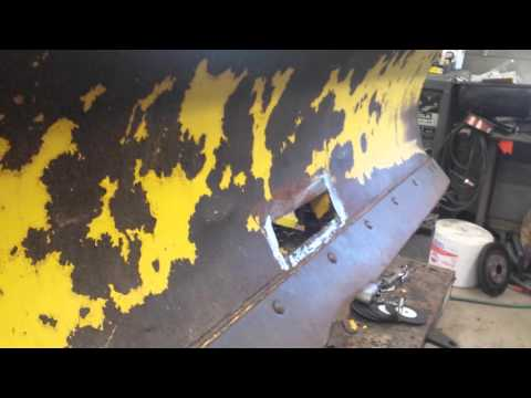 Snow Plow Repairs. Part 1