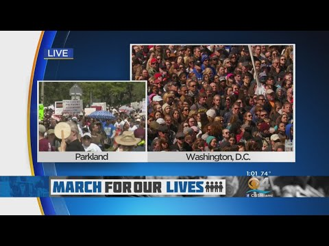 'Vote Them Out!' March For Our Lives Attendees Chant