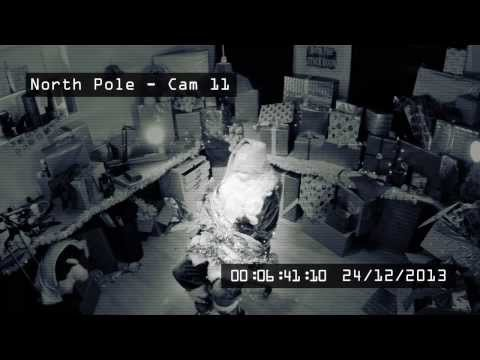 Wilkinson Sword #ShaveSanta or #SaveSanta: CCTV Footage