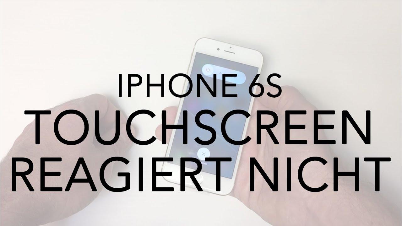 iPhone 6 6S Anleitung Touchscreen funktioniert nicht  YouTube ~ Kühlschrank Funktioniert Nicht Mehr