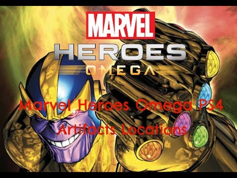 Marvel Heroes Omega | PS4 | XBOX | Artifacts Locations