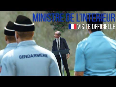 GTA 5 RP | VISITE DU MINISTRE DE L'INTÉRIEUR - SDLP