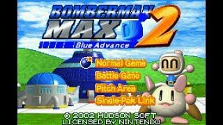 James & Friends Look-At: Bomberman Max 2 - Blue Advance (GBA)