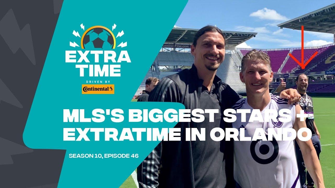 Photobombing Zlatan & Schweinsteiger at MLS All-Star Game!