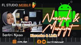 Medley Sholawat Nariyah Munjiyah Santri Njoso Karaoke Piano Cover