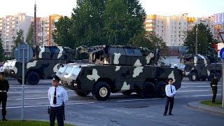 Парад военной техники в Минске 03.07.2014