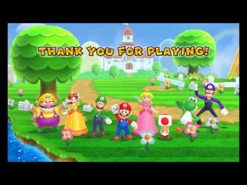 Mario Party: Island Tour - Credits