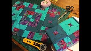 лоскутное шитьё, пэчворк. Обзор швейной машинки Janome QDC 5120