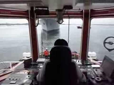 Tug master ship handling