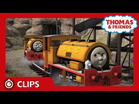 Bill and Ben Run Out of Steam | Clips | Thomas & Friends