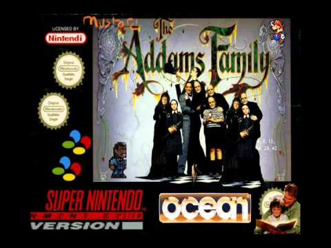 The Addams Family OST (SNES) - Wonderfully Gloomy Atmosphere (Echo)