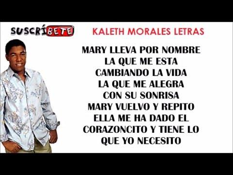 MARY (LETRA) - KALETH MORALES