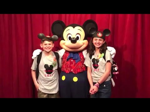 Mickey Mouse helps tell kids their official adoption date