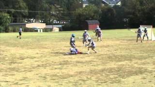 Ohio Valley University Lacrosse - Fall 2013 (Q1 vs. Guilford)