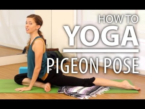 Yoga For Beginners, Pigeon Pose (Kapotasana)