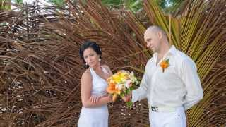 Символическая свадьба в Доминикане Маши и Николая....12 лет