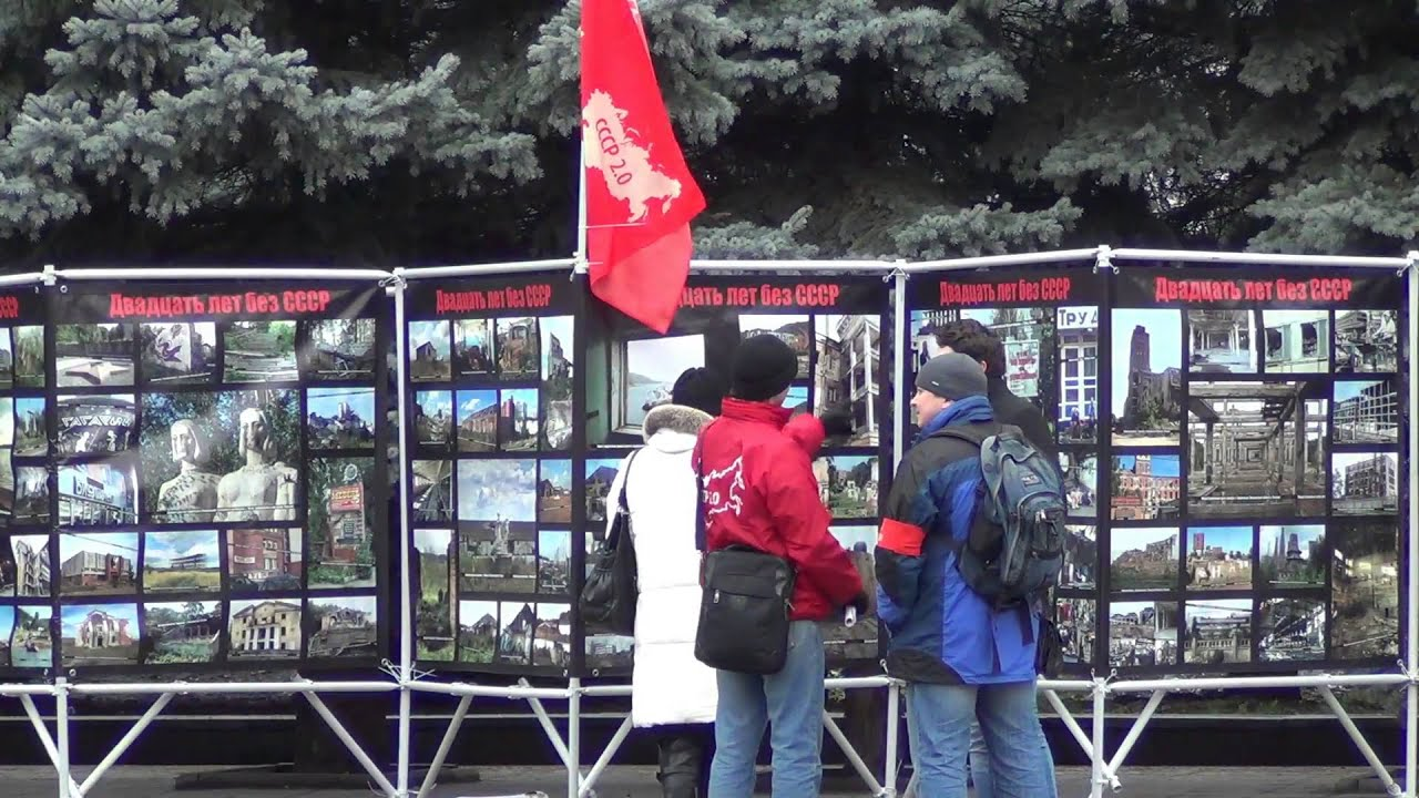 Пикет ПРОТИВ десоветизации, Брянск, 1 декабря 2013