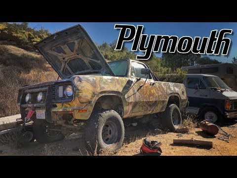 Pulling an ABANDONED PLYMOUTH From It's Grave!
