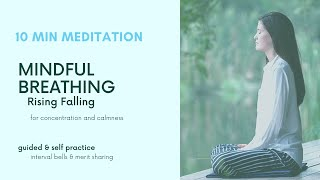 Mindful Breathing Guided Session to develop Detachment 10 min