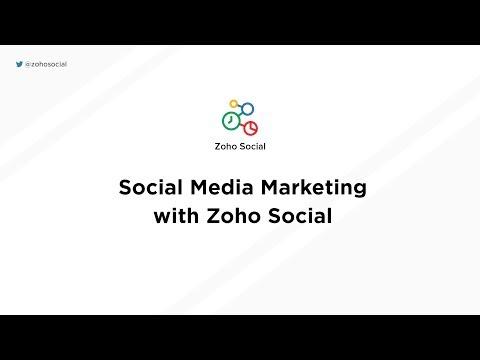 Social Media Marketing with Zoho Social thumbnail