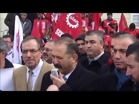 Konya Şubemiz tarafından Mayıs 2014 tarihinde Gezi olaylarında hayatını kaybeden Berkin Elvan'la ilgili yapılan basın açıklaması sonrasında dönemin başbakanına hakaretten dolayı Genel Başkanımız Veli Demir'in de aralarında bu