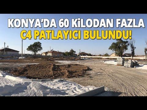 Kepçe Operatörü Fark Etti, Topraktan 60 Kilodan Fazla C4 Çıktı
