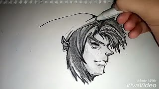 Drawing link/Wolf from legends of zelda
