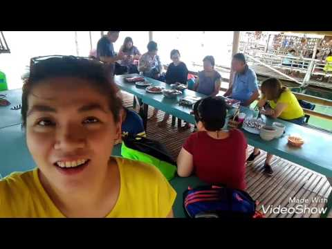 Lunch on a boat at Roxas City
