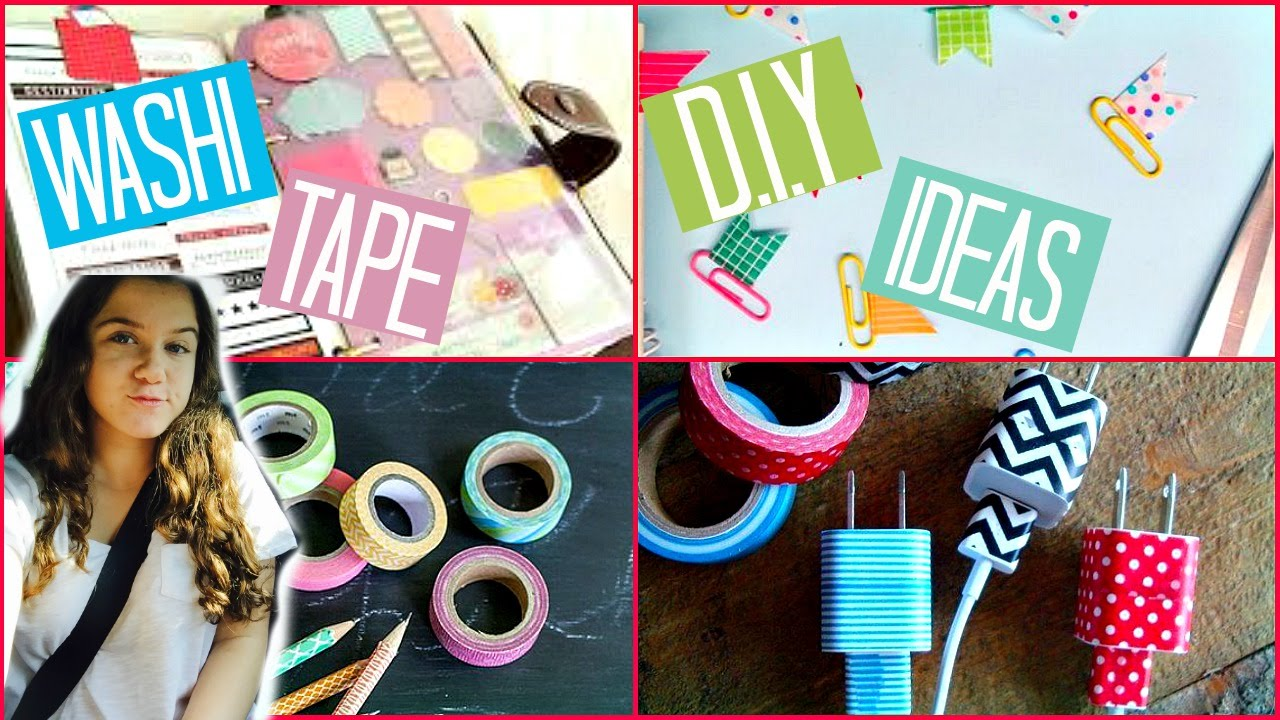 washi tape ideas back to school washi diy ideas 12622