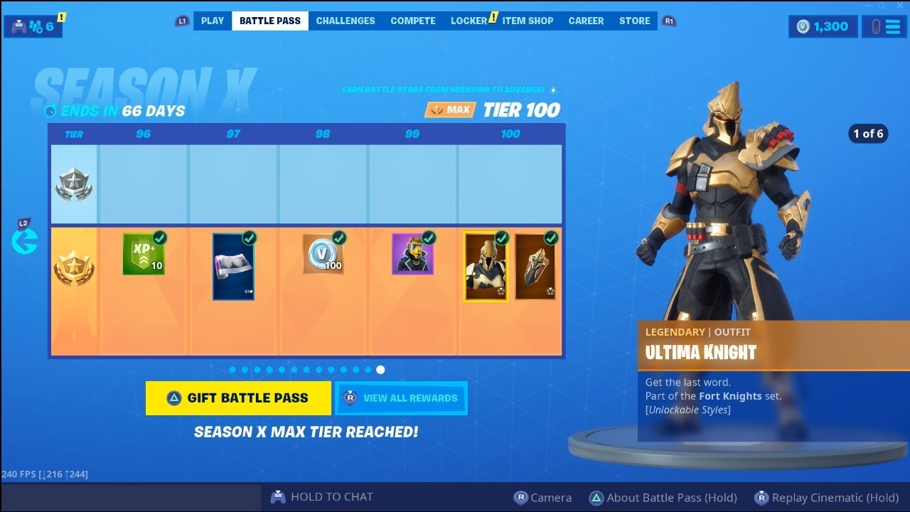 'Fortnite' Season 10 Battle Pass Skins to Tier 100: Yond3r, Ultima Knight & Catalyst