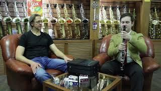 Андрей Федорченко. Обучение на кларнете. Салон саксофонов Bird.