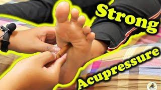 ASMR Relaxing Pressure Foot Massage - Acupressure Stick